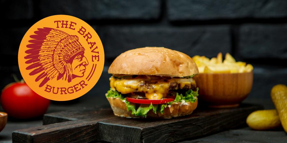 The Brave Burger 3D modeling