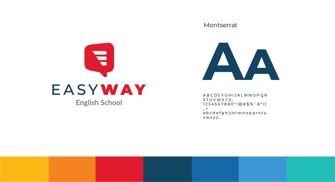 Easy Way English School Banner 003 Branding