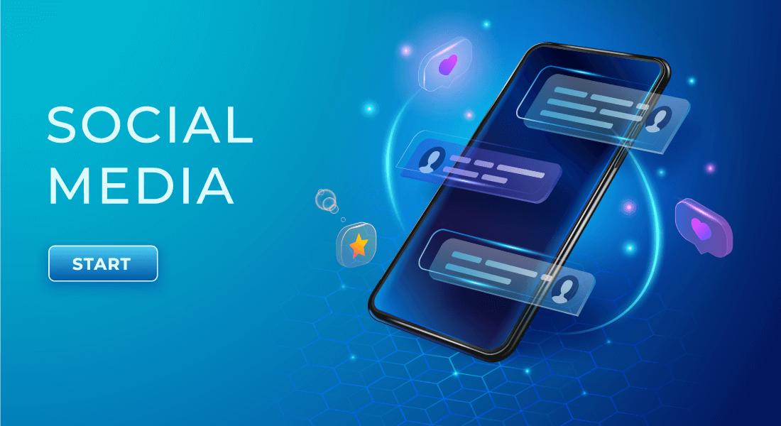 Social Media Portfolio Banner