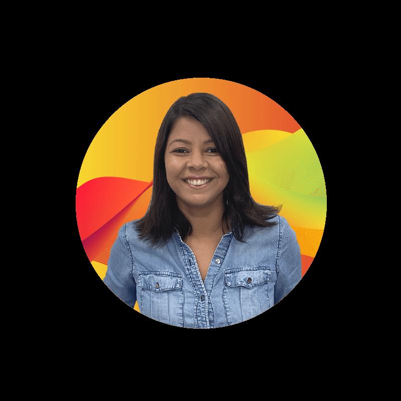 Team member Daniella Araujo